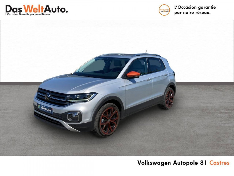 Volkswagen T-cross T-Cross 1.0 TSI 115 Start/Stop BVM6 Carat 5p Argent occasion à Castres