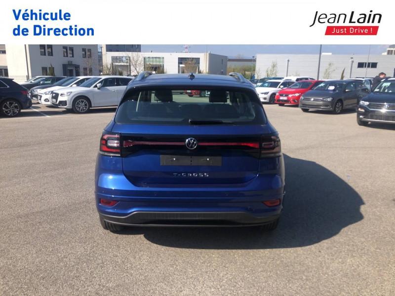 Volkswagen T-cross T-Cross 1.0 TSI 115 Start/Stop DSG7 R-Line 5p Bleu occasion à Seynod - photo n°6