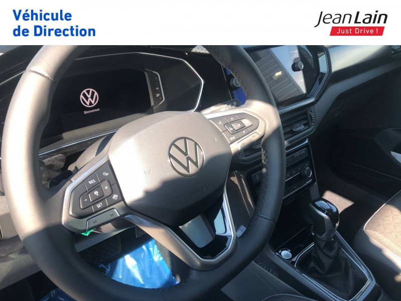 Volkswagen T-cross T-Cross 1.0 TSI 115 Start/Stop DSG7 R-Line 5p Bleu occasion à Seynod - photo n°12