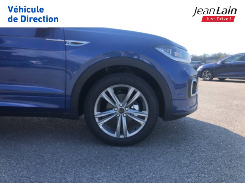 Volkswagen T-cross T-Cross 1.0 TSI 115 Start/Stop DSG7 R-Line 5p Bleu occasion à Seynod - photo n°9