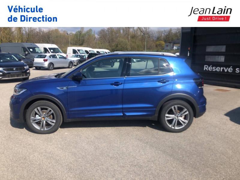 Volkswagen T-cross T-Cross 1.0 TSI 115 Start/Stop DSG7 R-Line 5p Bleu occasion à Seynod - photo n°8