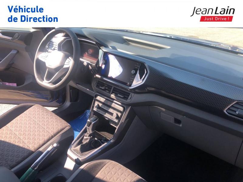Volkswagen T-cross T-Cross 1.0 TSI 115 Start/Stop DSG7 R-Line 5p Bleu occasion à Seynod - photo n°18