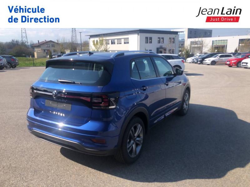 Volkswagen T-cross T-Cross 1.0 TSI 115 Start/Stop DSG7 R-Line 5p Bleu occasion à Seynod - photo n°5