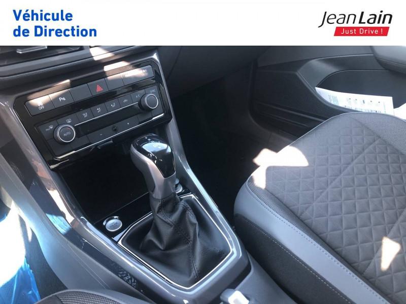 Volkswagen T-cross T-Cross 1.0 TSI 115 Start/Stop DSG7 R-Line 5p Bleu occasion à Seynod - photo n°13