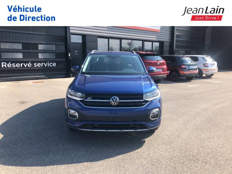 Volkswagen T-cross T-Cross 1.0 TSI 115 Start/Stop DSG7 R-Line 5p Bleu occasion à Seynod - photo n°2