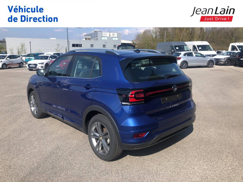 Volkswagen T-cross T-Cross 1.0 TSI 115 Start/Stop DSG7 R-Line 5p Bleu occasion à Seynod - photo n°7