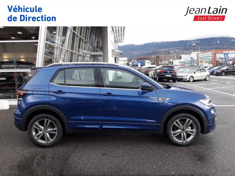Volkswagen T-cross T-Cross 1.0 TSI 115 Start/Stop DSG7 R-Line 5p Bleu occasion à Ville-la-Grand - photo n°4