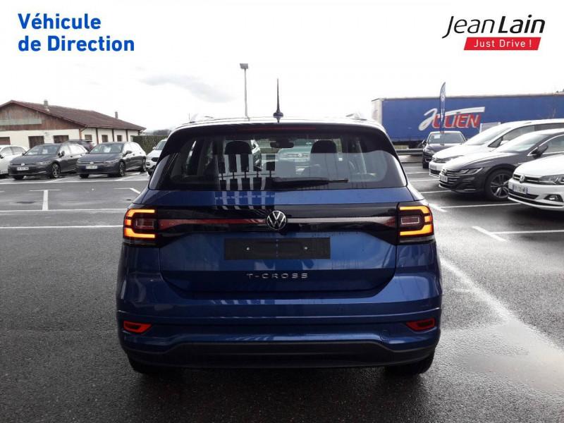 Volkswagen T-cross T-Cross 1.0 TSI 115 Start/Stop DSG7 R-Line 5p Bleu occasion à Ville-la-Grand - photo n°6