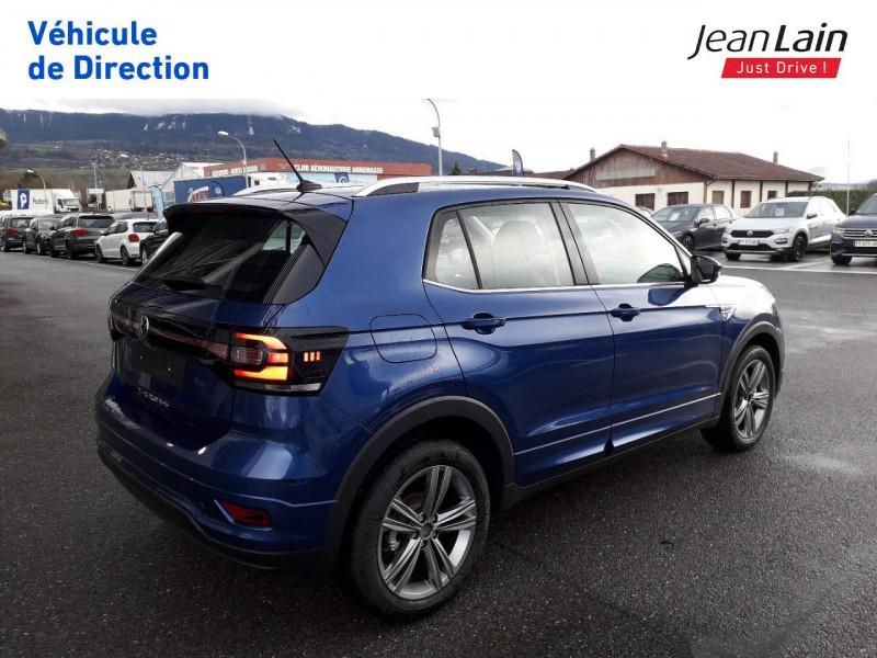 Volkswagen T-cross T-Cross 1.0 TSI 115 Start/Stop DSG7 R-Line 5p Bleu occasion à Ville-la-Grand - photo n°5