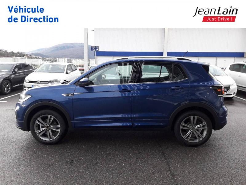 Volkswagen T-cross T-Cross 1.0 TSI 115 Start/Stop DSG7 R-Line 5p Bleu occasion à Ville-la-Grand - photo n°8