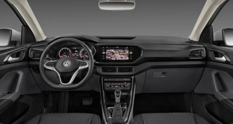Volkswagen T-cross t cross 1.0 TSI 95 Start/Stop BVM5 United Gris occasion à AHUY - photo n°2