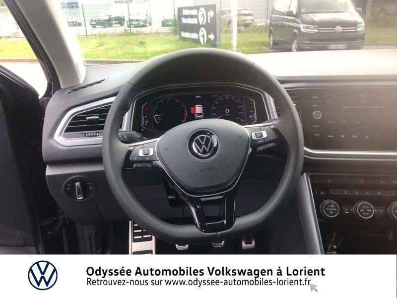 Volkswagen T-Roc 1.0 TSI 110ch Active Noir occasion à Lanester - photo n°7