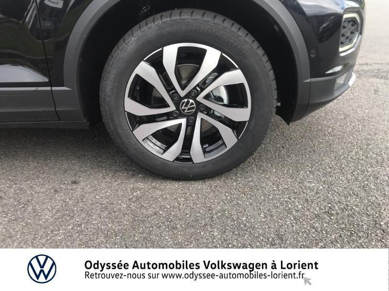 Volkswagen T-Roc 1.0 TSI 110ch Active Noir occasion à Lanester - photo n°15