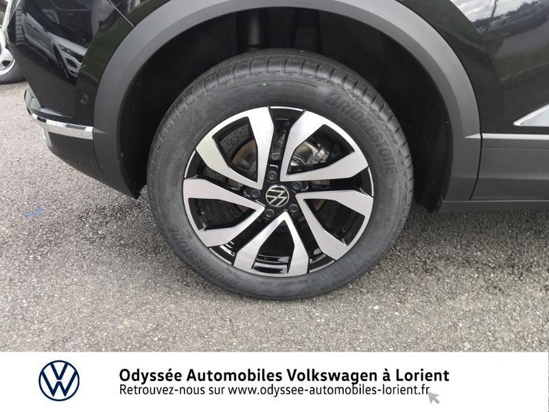 Volkswagen T-Roc 1.0 TSI 110ch Active Noir occasion à Lanester - photo n°16