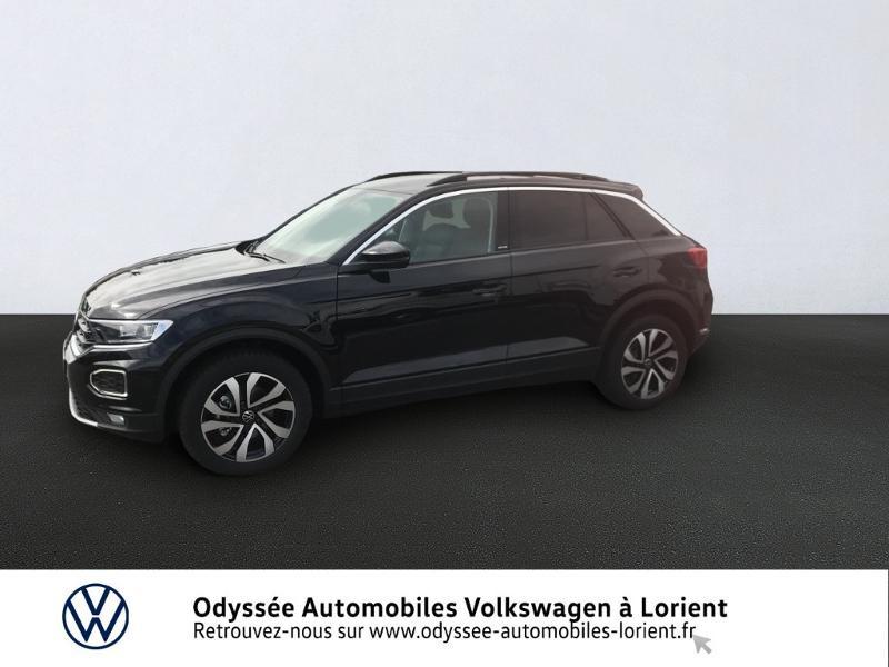 Volkswagen T-Roc 1.0 TSI 110ch Active Noir occasion à Lanester
