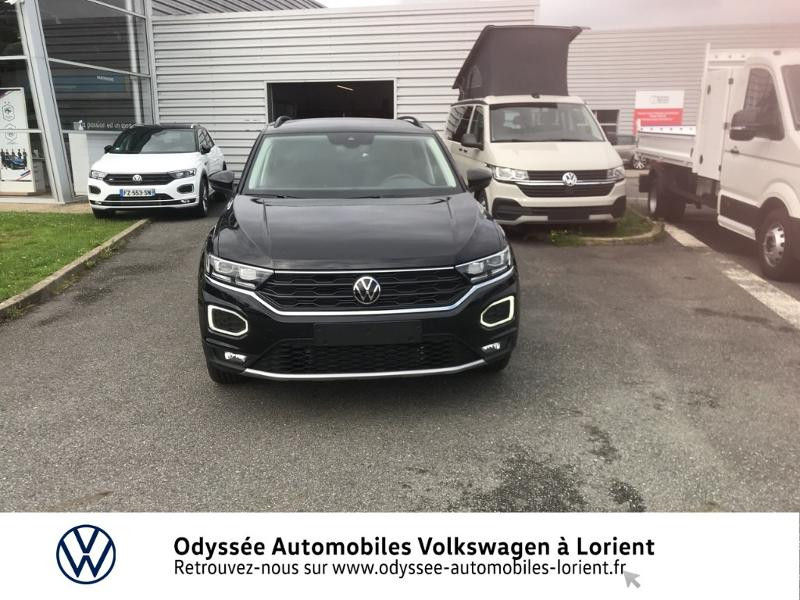 Volkswagen T-Roc 1.0 TSI 110ch Active Noir occasion à Lanester - photo n°5