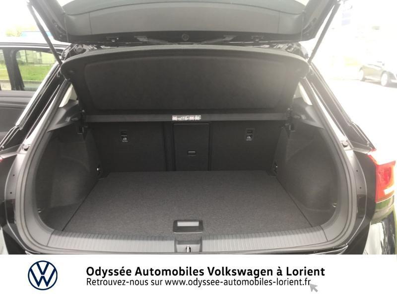 Volkswagen T-Roc 1.0 TSI 110ch Active Noir occasion à Lanester - photo n°12