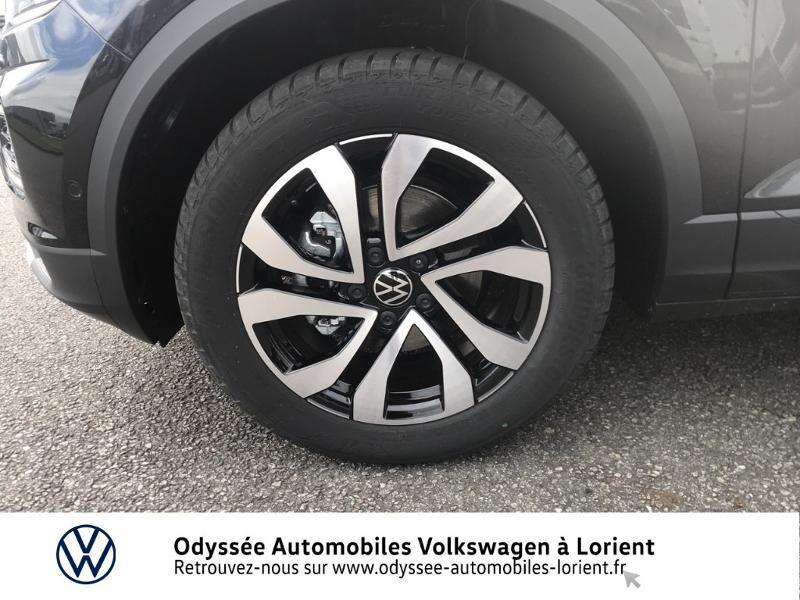 Volkswagen T-Roc 1.0 TSI 110ch Active Noir occasion à Lanester - photo n°14