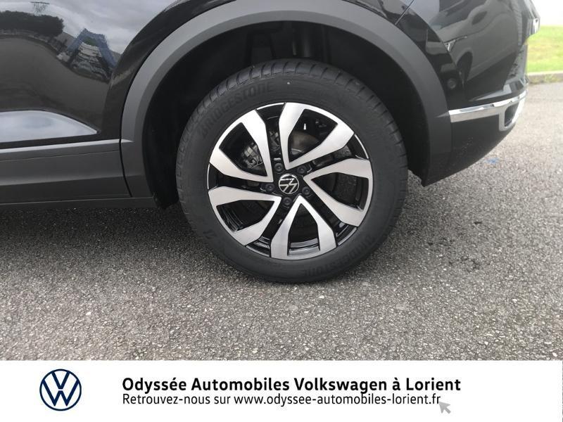 Volkswagen T-Roc 1.0 TSI 110ch Active Noir occasion à Lanester - photo n°13