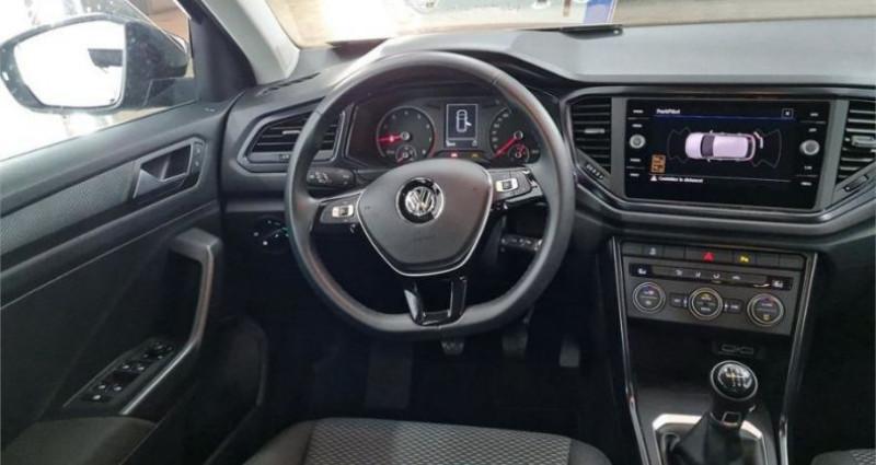 Volkswagen T-Roc 1.0 TSI 115 LOUNGE Noir occasion à CHANAS - photo n°3