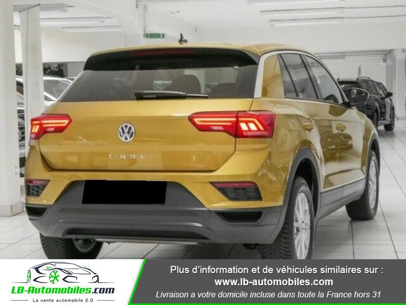 Volkswagen T-Roc 1.0 TSI 115 Jaune occasion à Beaupuy - photo n°3