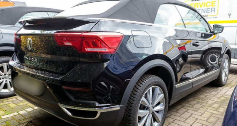 Volkswagen T-Roc 1.0 TSI 115ch IQ.Drive Euro6d-T Noir occasion à Boulogne-Billancourt - photo n°2