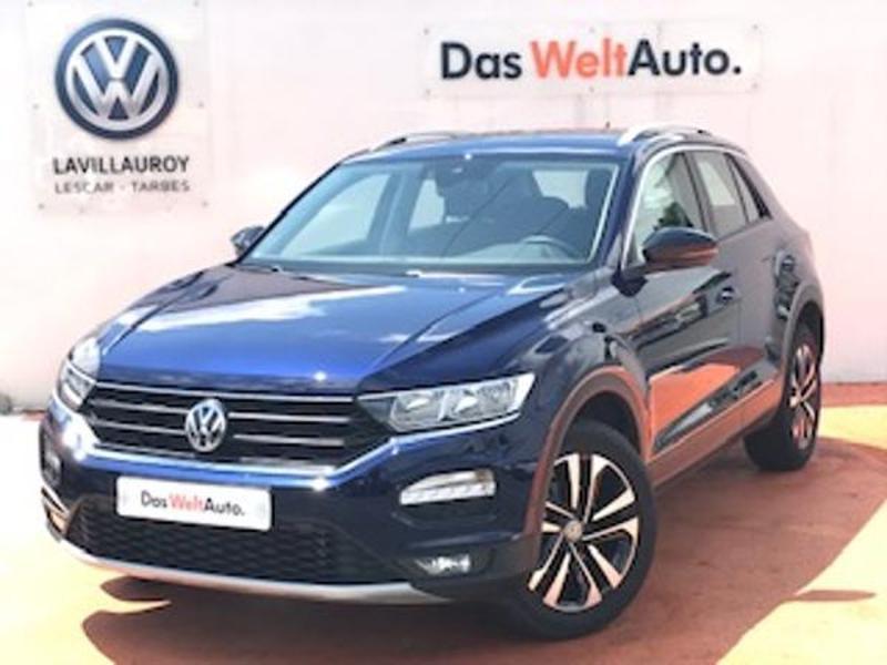 Volkswagen T-Roc 1.0 TSI 115ch IQ.Drive Euro6d-T Bleu occasion à LESCAR