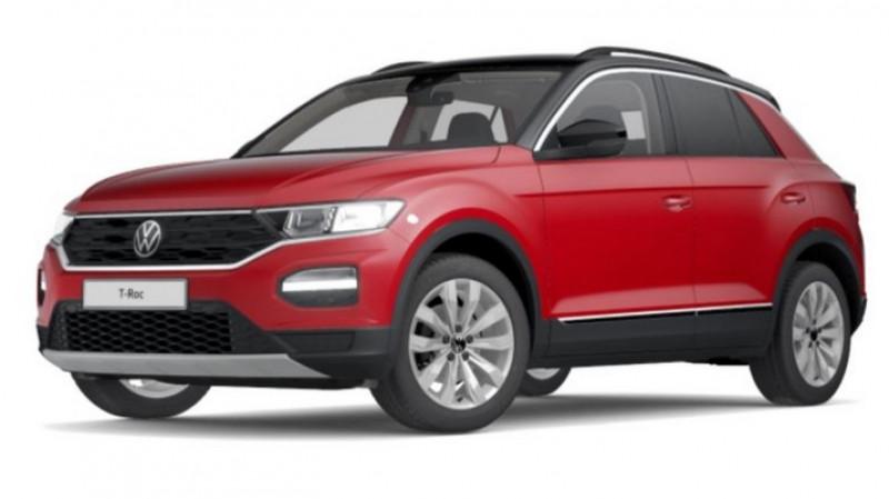 Volkswagen T-Roc 1.5 tsi 150cv dsg7 lounge surequipe Rouge occasion à Ganges