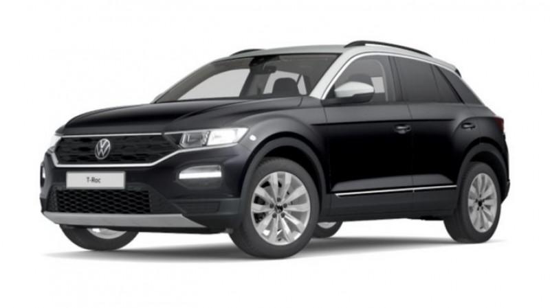 Volkswagen T-Roc 1.5 tsi 150cv dsg7 lounge surequipe Noir occasion à Ganges