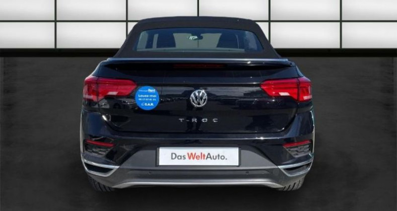 Volkswagen T-Roc 1.5 TSI EVO 150ch Style DSG7 Noir occasion à La Rochelle - photo n°4