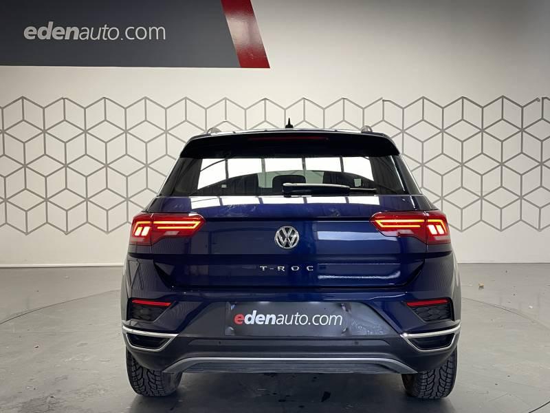 Volkswagen T-Roc 1.6 TDI 115 Start/Stop BVM6 Lounge  occasion à TARBES - photo n°6
