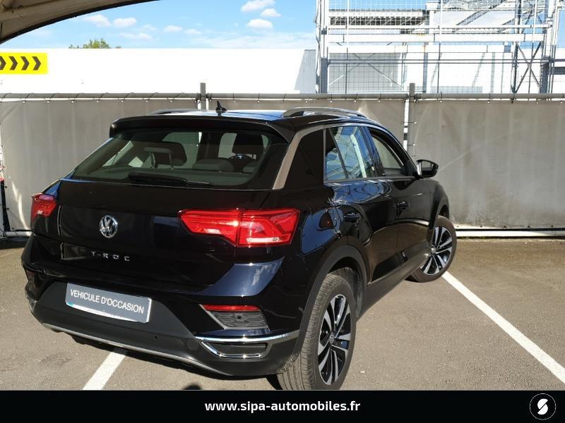 Volkswagen T-Roc 1.6 TDI 115ch IQ.Drive Euro6d-T Noir occasion à Mérignac - photo n°2