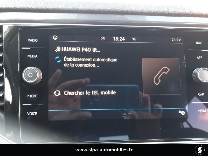 Volkswagen T-Roc 1.6 TDI 115ch IQ.Drive Euro6d-T Noir occasion à Mérignac - photo n°17