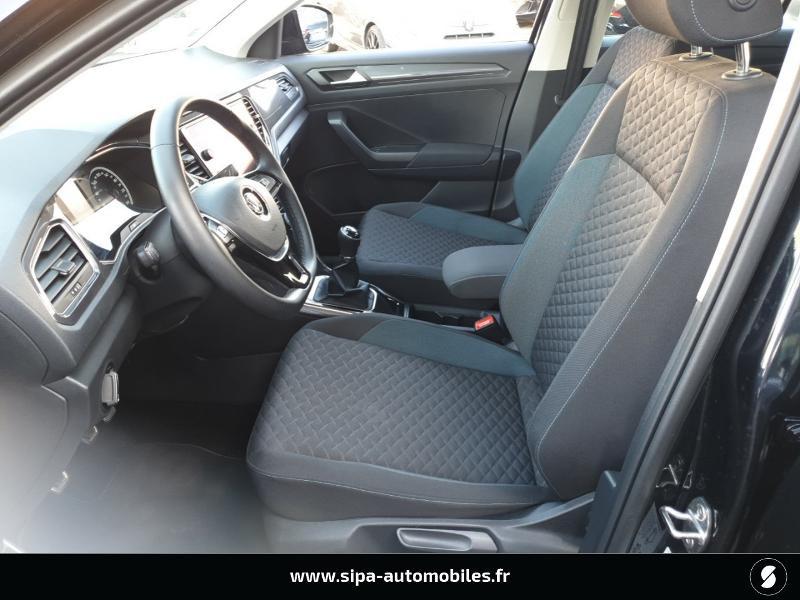 Volkswagen T-Roc 1.6 TDI 115ch IQ.Drive Euro6d-T Noir occasion à Mérignac - photo n°4