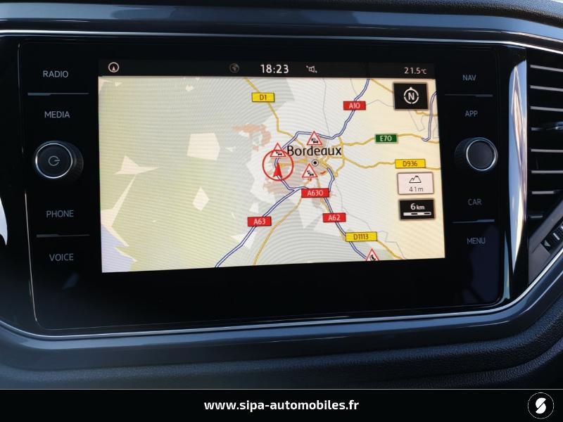 Volkswagen T-Roc 1.6 TDI 115ch IQ.Drive Euro6d-T Noir occasion à Mérignac - photo n°16