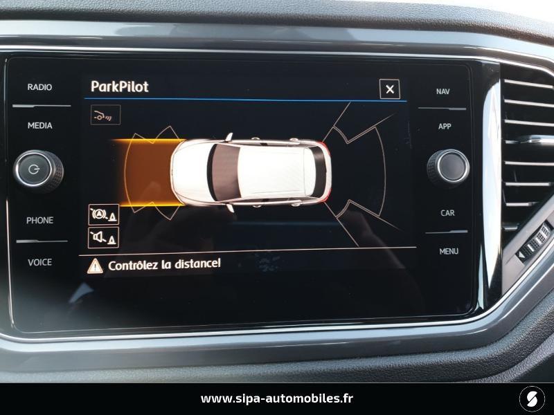 Volkswagen T-Roc 1.6 TDI 115ch IQ.Drive Euro6d-T Noir occasion à Mérignac - photo n°15