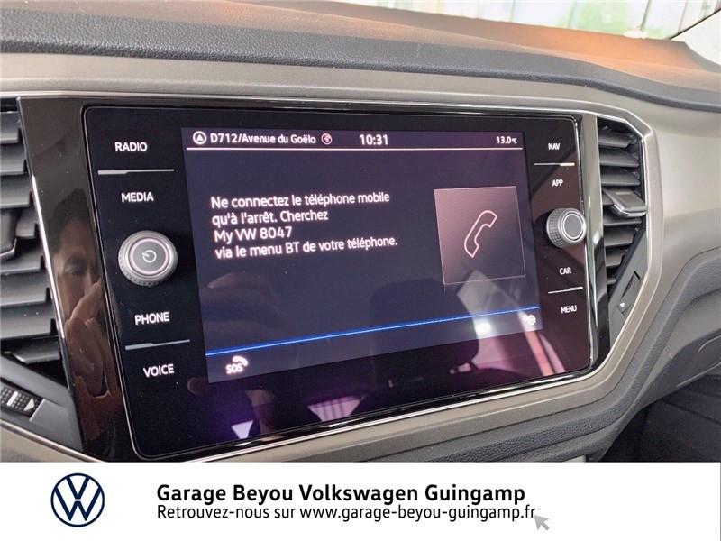 Volkswagen T-Roc 2.0 TDI 115 START/STOP BVM6 Blanc occasion à Saint Agathon - photo n°14