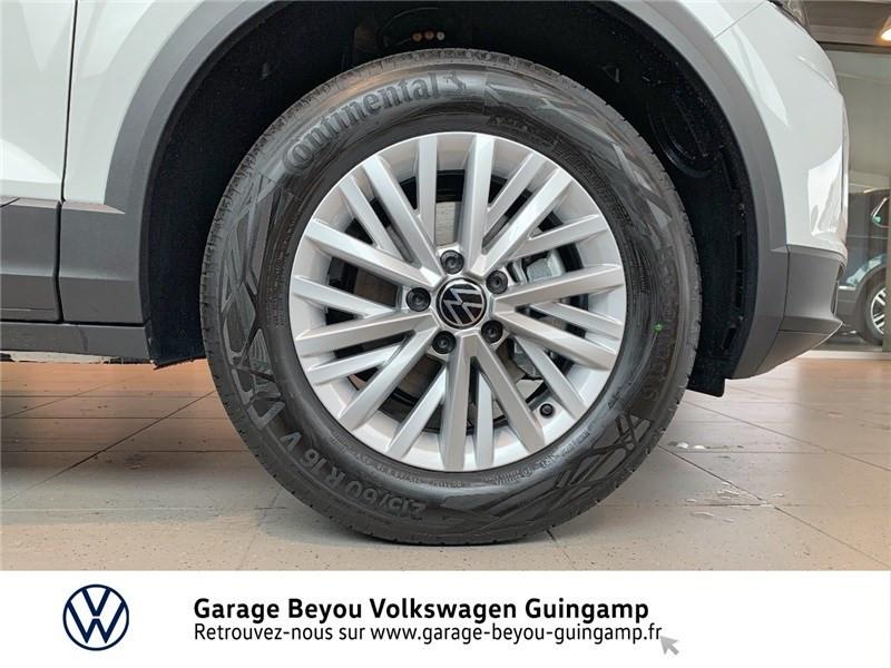 Volkswagen T-Roc 2.0 TDI 115 START/STOP BVM6 Blanc occasion à Saint Agathon - photo n°13
