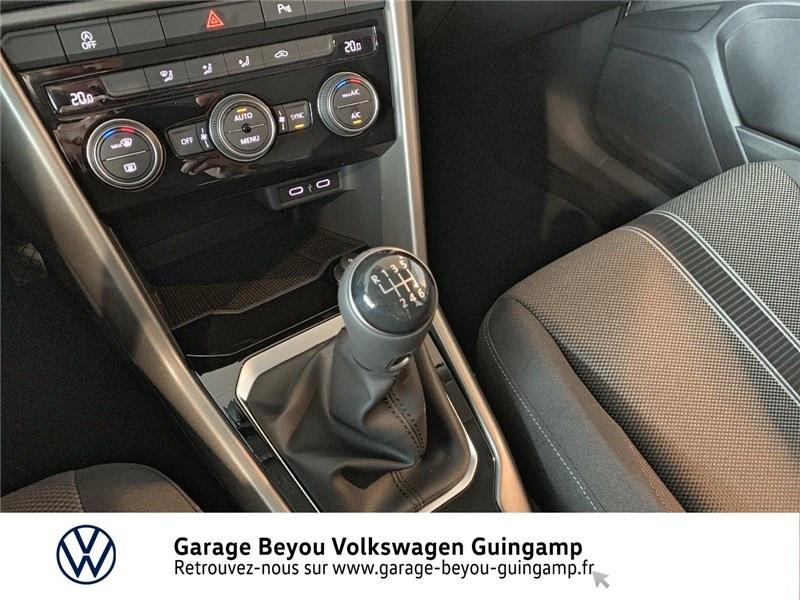 Volkswagen T-Roc 2.0 TDI 115 START/STOP BVM6 Blanc occasion à Saint Agathon - photo n°10