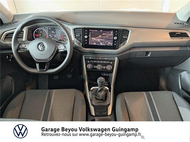 Volkswagen T-Roc 2.0 TDI 115 START/STOP BVM6 Blanc occasion à Saint Agathon - photo n°6