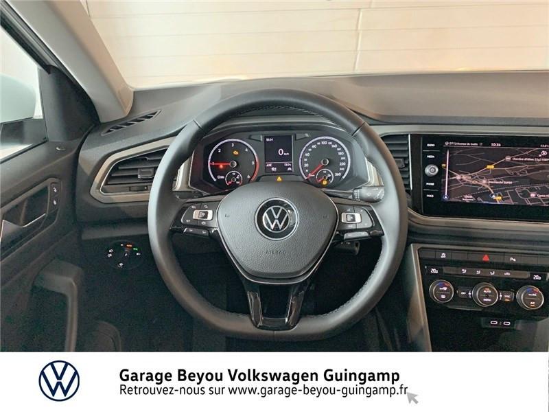 Volkswagen T-Roc 2.0 TDI 115 START/STOP BVM6 Blanc occasion à Saint Agathon - photo n°7