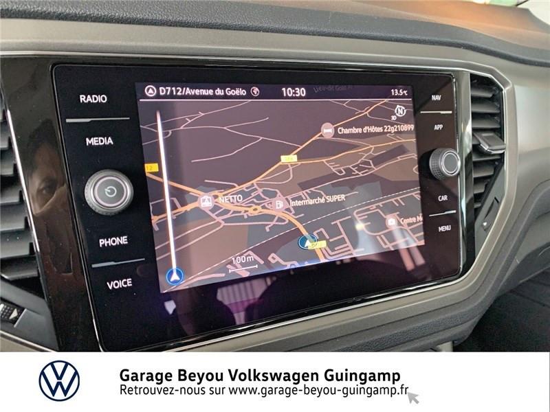 Volkswagen T-Roc 2.0 TDI 115 START/STOP BVM6 Blanc occasion à Saint Agathon - photo n°8