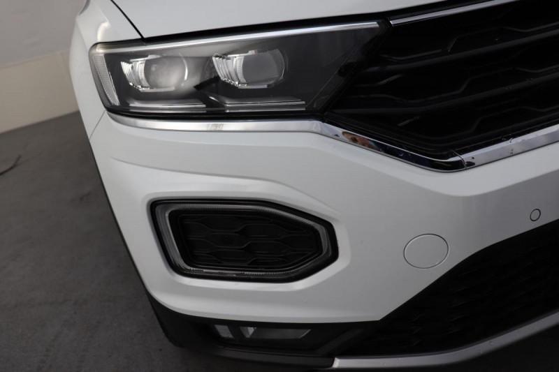 Volkswagen T-Roc 2.0 TDI 150 Start/Stop DSG7 Carat Blanc occasion à Toulouse - photo n°8