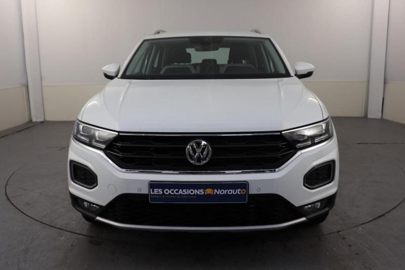 Volkswagen T-Roc 2.0 TDI 150 Start/Stop DSG7 Carat Blanc occasion à Toulouse - photo n°2