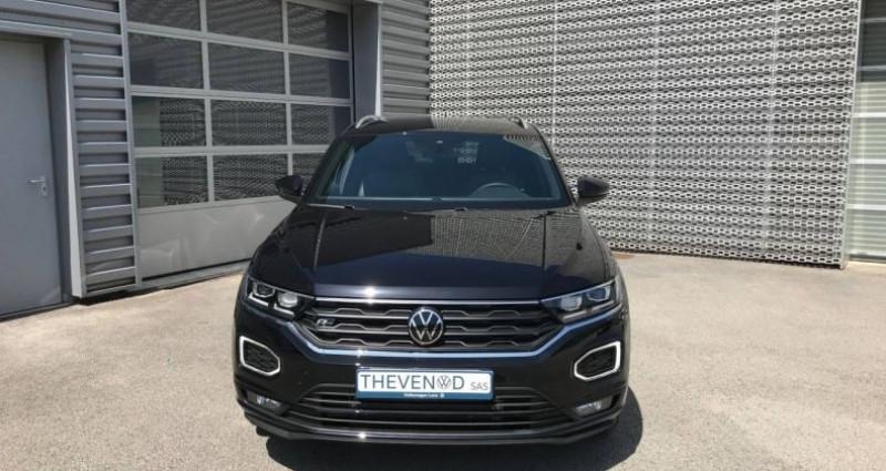 Volkswagen T-Roc 2.0 TDI 150 Start/Stop DSG7 R-Line Noir occasion à Lons Le Saunier - photo n°3