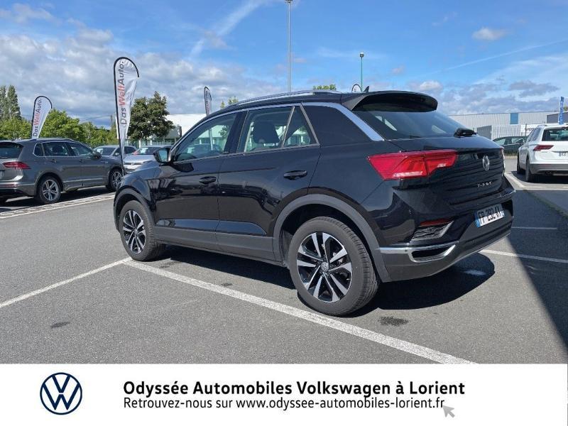 Volkswagen T-Roc 2.0 TDI 150ch IQ.Drive DSG7 Euro6d-T Noir occasion à Lanester - photo n°3