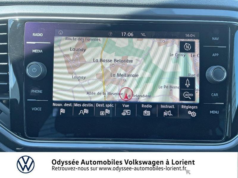 Volkswagen T-Roc 2.0 TDI 150ch IQ.Drive DSG7 Euro6d-T Noir occasion à Lanester - photo n°8