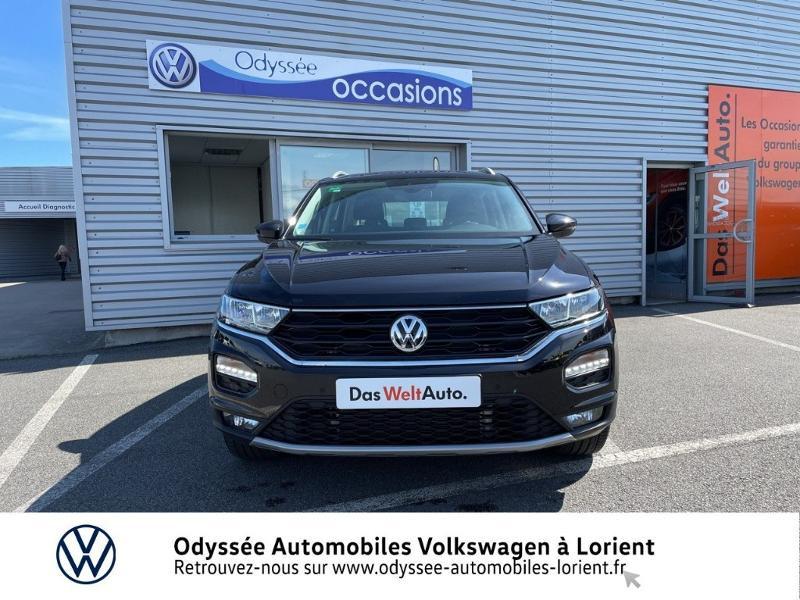 Volkswagen T-Roc 2.0 TDI 150ch IQ.Drive DSG7 Euro6d-T Noir occasion à Lanester - photo n°5