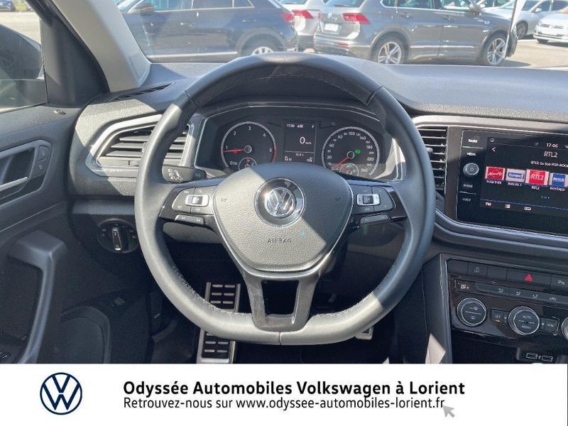 Volkswagen T-Roc 2.0 TDI 150ch IQ.Drive DSG7 Euro6d-T Noir occasion à Lanester - photo n°7