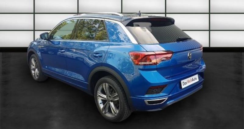 Volkswagen T-Roc 2.0 TDI 150ch R-Line DSG7 Euro6d-T Bleu occasion à La Rochelle - photo n°5